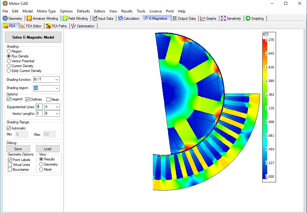 ANSYS Motor-CAD Latest Version