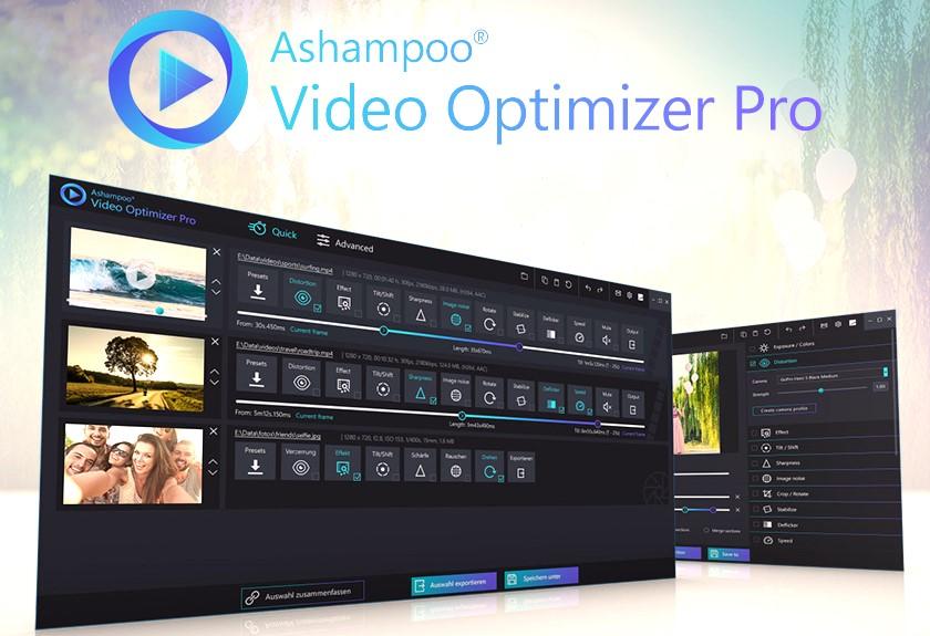 Ashampoo Video Optimizer Pro latest version