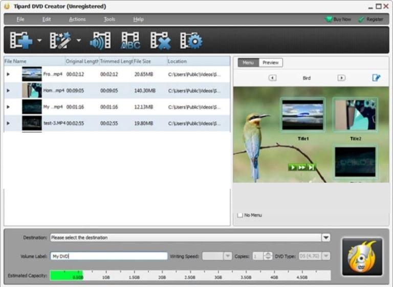 Tipard DVD Creator Patch