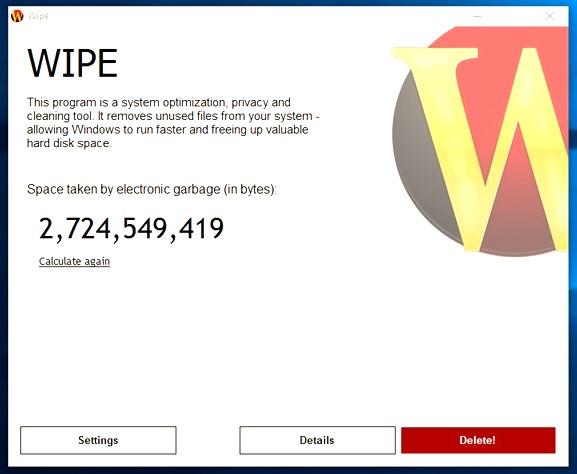 Wipe Pro Latest Version