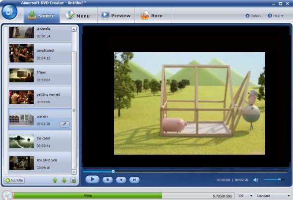 Aimersoft DVD Creator Latest Version