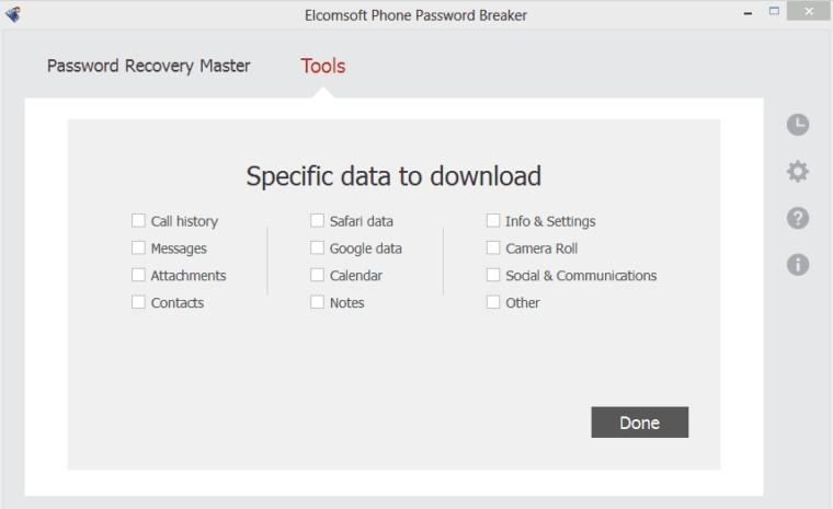 Elcomsoft Phone Breaker License Key