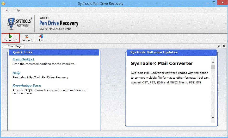 SysTools Pen Drive Recovery Full Version